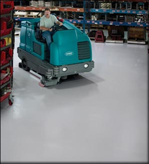 How to clean industrial concrete floors for Floor operator